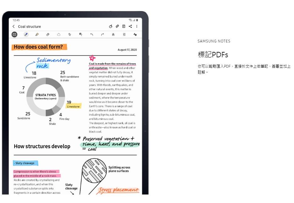 你可以輕鬆匯入PDF,直接於文件上做筆記、簽署並加上註解。