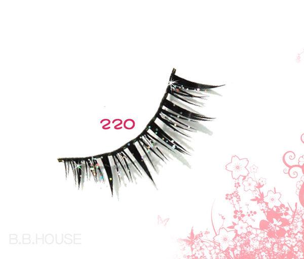寶貝窩【T220】亞芸人氣純手工假睫毛一盒10對
