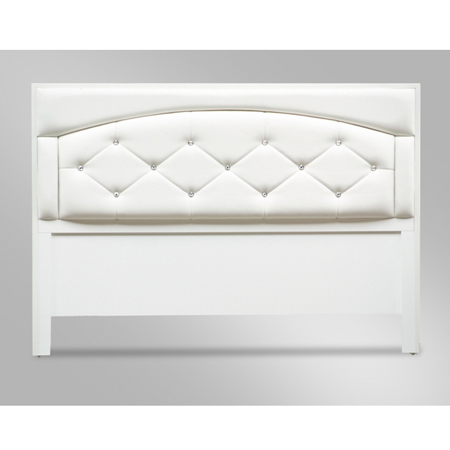 約瑟芬5尺白色雙人床頭片 (16YS2_864-93)