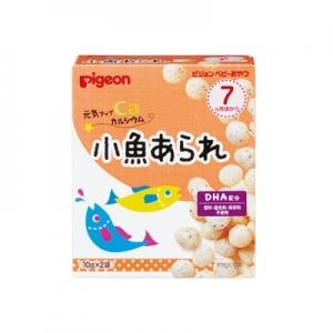 日本【貝親Pigeon】小魚米果球 (7個月以上)