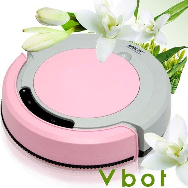 Vbot智慧型番石榴葉香氛掃地機器人(掃+擦地+吸塵)公主機M270(粉紅)~免運費