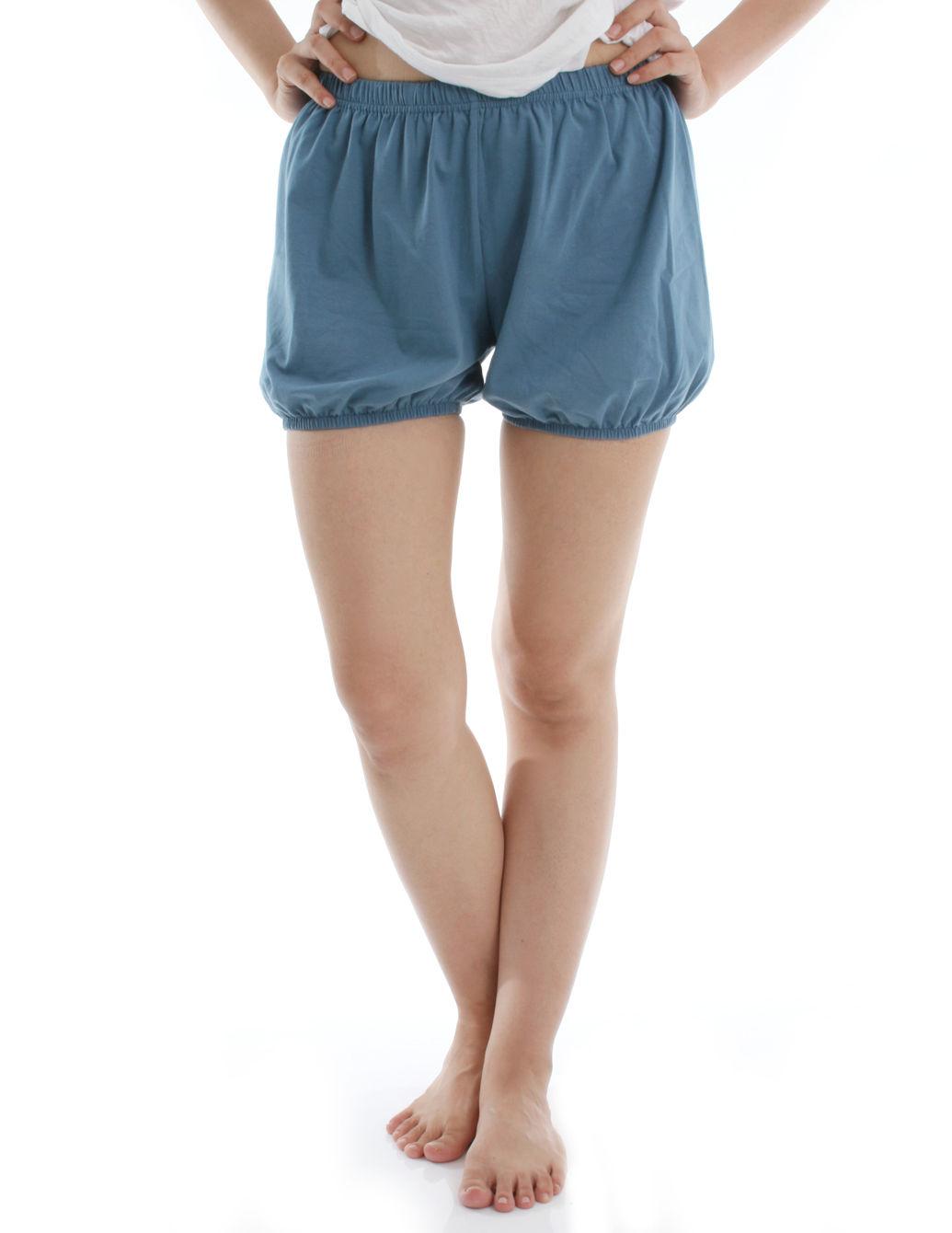 RTBU瑜珈褲~燈籠褲造型。藍色