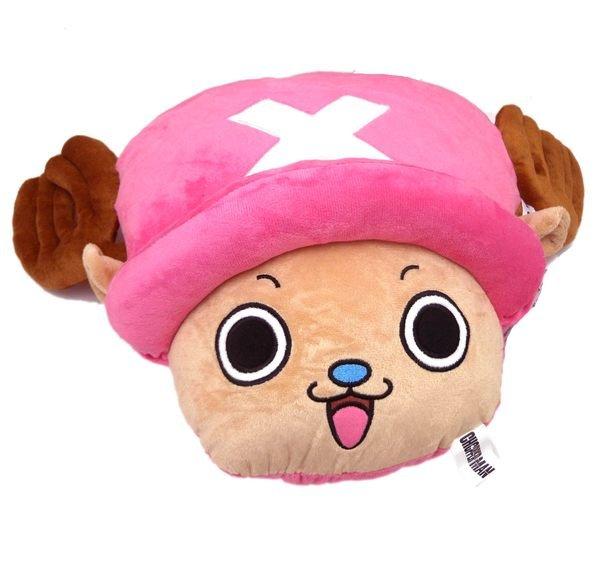 【真愛日本】13101000003 喬巴立體頭型抱枕S 海賊王 航海王 喬巴 魯夫 午安枕 靠枕 坐墊