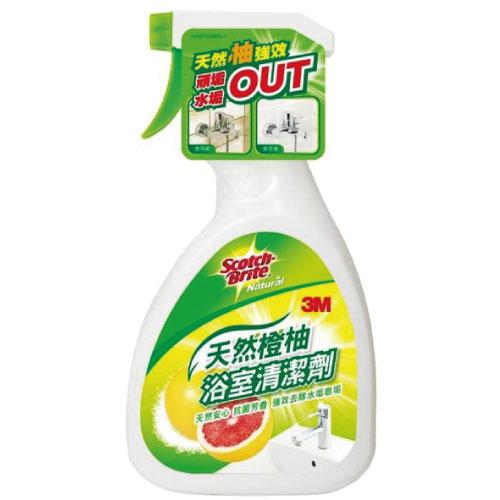 【3M】 天然橙柚浴室清潔劑500ml