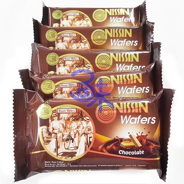 (印尼) NISSIN 日清威化餅-巧克力味 1包 600 公克 特價 106元 【8888166339958 】