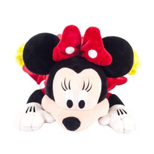 ★衛立兒生活館★美國 Zoobies 迪士尼三合一多功能玩偶毯-米妮「玩偶+枕頭+毛毯」