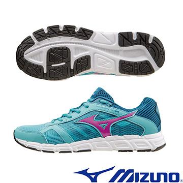 J1GF162863(粉藍X紅)休閒款 MIZUNO SYNCHRO SL (W) 一般型女慢跑鞋 A【美津濃MIZUNO】