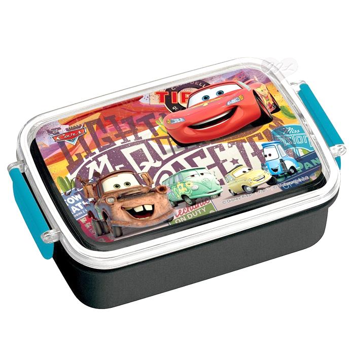 日本製閃電麥坤雙扣便當盒餐盒 283925*JJL*