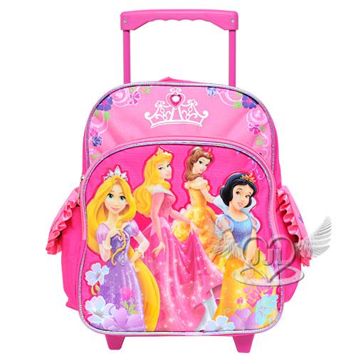 *JJL*迪士尼公主迷你拉桿行李箱後背包包 385822
