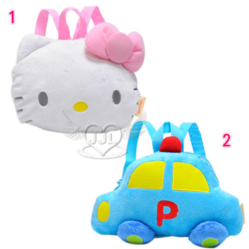 HELLO KITTY工程車造型幼童兒童後背包包 2選1 10291276*JJL*