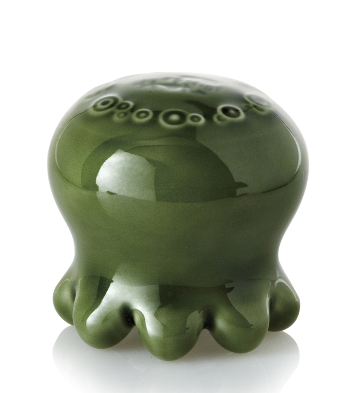 乾唐軒活瓷 ‧ 水母按摩器 ( 綠釉)