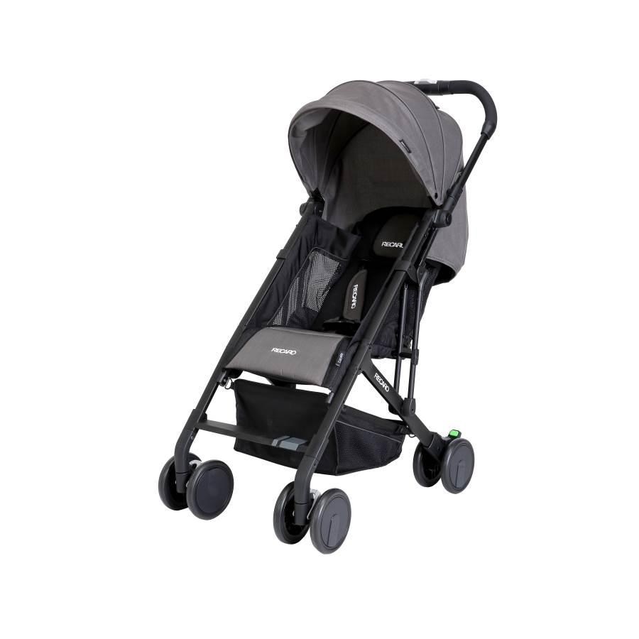 RECARO - Easylife嬰幼兒手推車 (石墨灰) 附原廠背帶一條