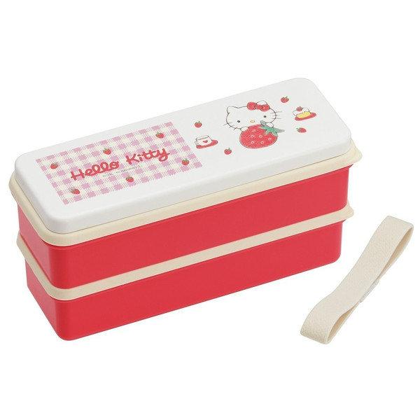 【曙嘻sooth-日本直送】**交換禮物熱品**Hello Kitty [日本製]雙層便當盒