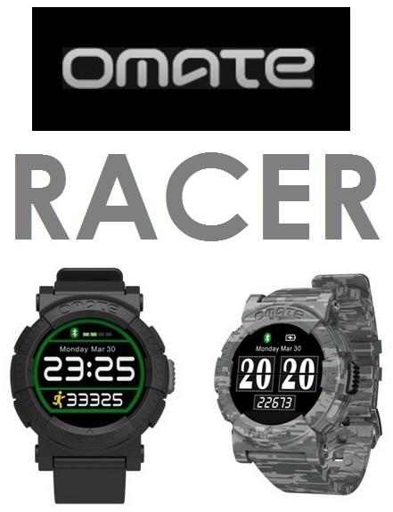 【原廠盒裝】Omate Racer 藍牙智慧手錶 迷彩