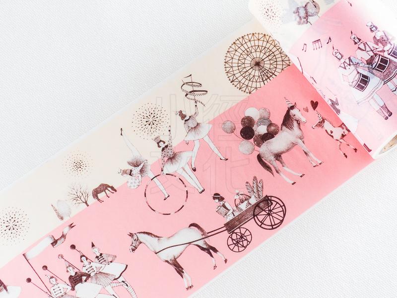 *小徑文化*日本進口 Aimez le style 和紙膠帶 - 秘密遊行 ( JAN 5595 )