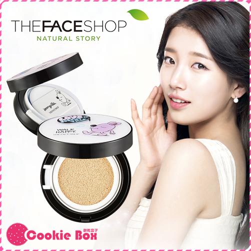 *餅乾盒子* 韓國 The Face Shop CC氣墊粉餅 JEREMYVILLE 聯名款 菲詩小舖 秀智 15g