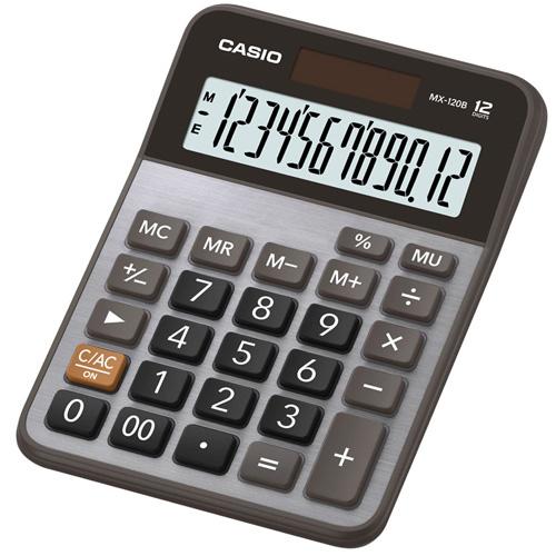 【破盤價】【永昌文具】CASIO 卡西歐 MX-120B 商用12位元計算機 /台 ( MX-120S 更新 )