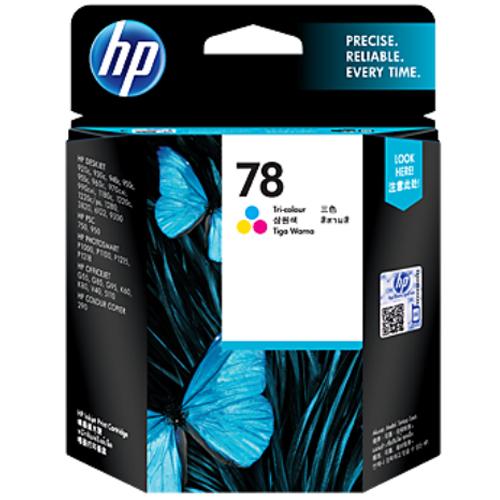 【HP 墨水匣】 C6578DA/NO.78 原廠彩色墨水匣