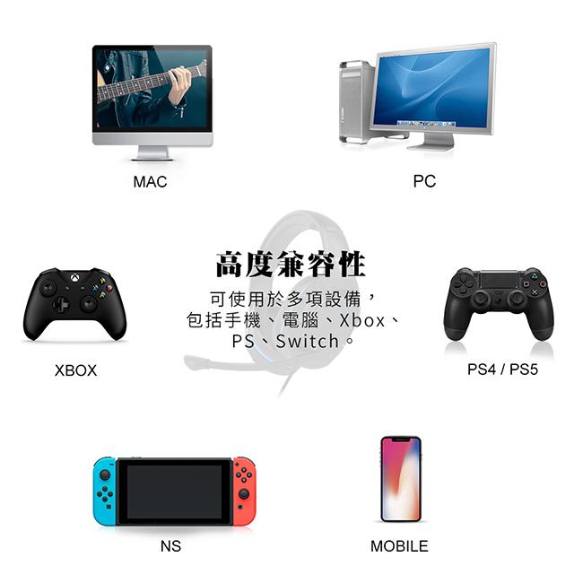 可以使用於許多設備,包括手機、電腦、平板、各式遊戲機。