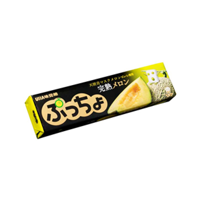 有樂町進口食品 日本進口 UHA味覺糖 哈密瓜糖條 50g J33 4902750859630