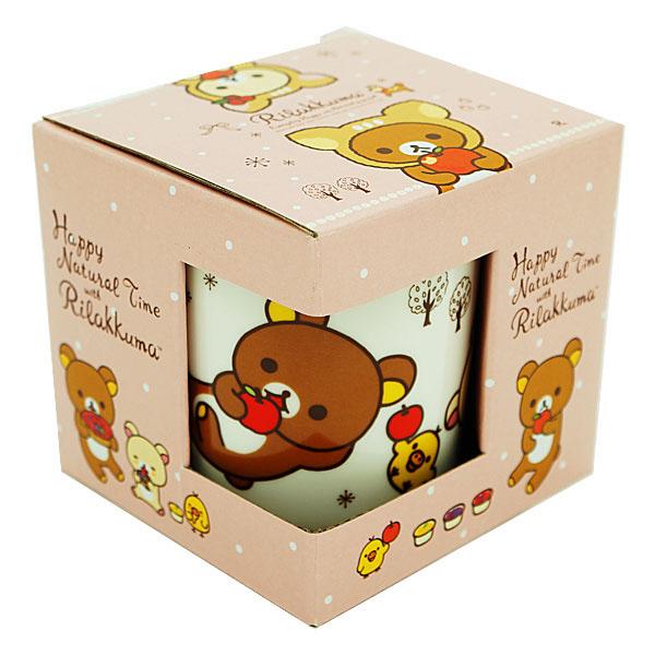 【真愛日本】16011200011拉拉熊馬克杯-小鹿粉 Rilakkuma 懶懶熊 拉拉熊 san-x 杯子