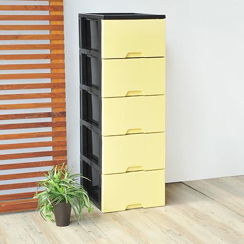 【nicegoods】馬卡龍五層收納置物櫃-DIY(收納櫃 抽屜櫃 衣櫃 塑膠 整理箱)