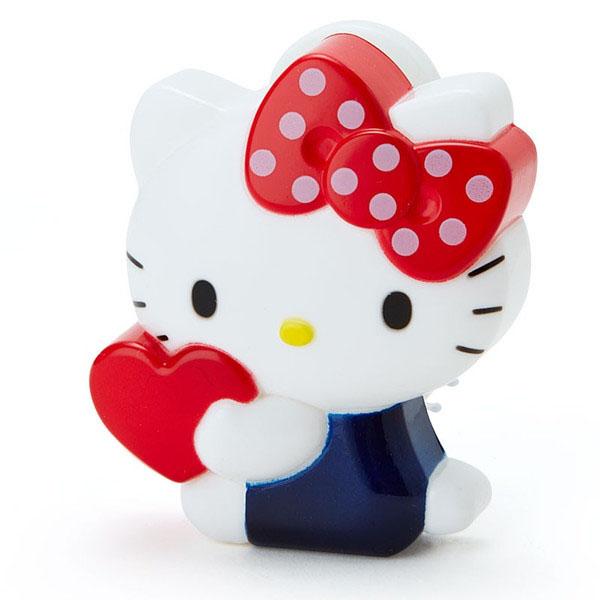 【真愛日本】16021700022 造型折疊附鏡按摩梳-KT 三麗鷗 Hello Kitty 凱蒂貓 梳子 美髮用品