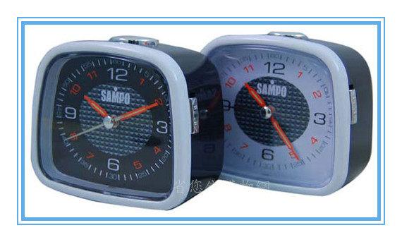 《省您錢購物網》近全新福利品~【聲寶 SAMPO】方型指針鬧鐘 (PY-Z906ML)