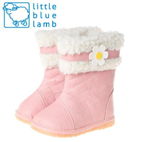 【小藍羊】littlebluelamb嗶嗶女童靴-粉紅甜心