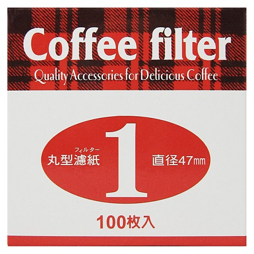 《Pearl Horse》丸型咖啡濾紙1號-100枚入(JA-P-005-001)