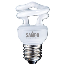 破盤價《SAMPO》聲寶5W螺旋省電燈泡-黃光-LB-U05SL