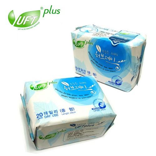 【UFT】韓國天然漢方草本衛生棉-日用型
