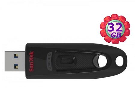 SanDisk 32GB 32G Cruzer Ultra 100MB【CZ48】SDCZ48 SDCZ48-032G USB 3.0 原廠包裝 隨身碟