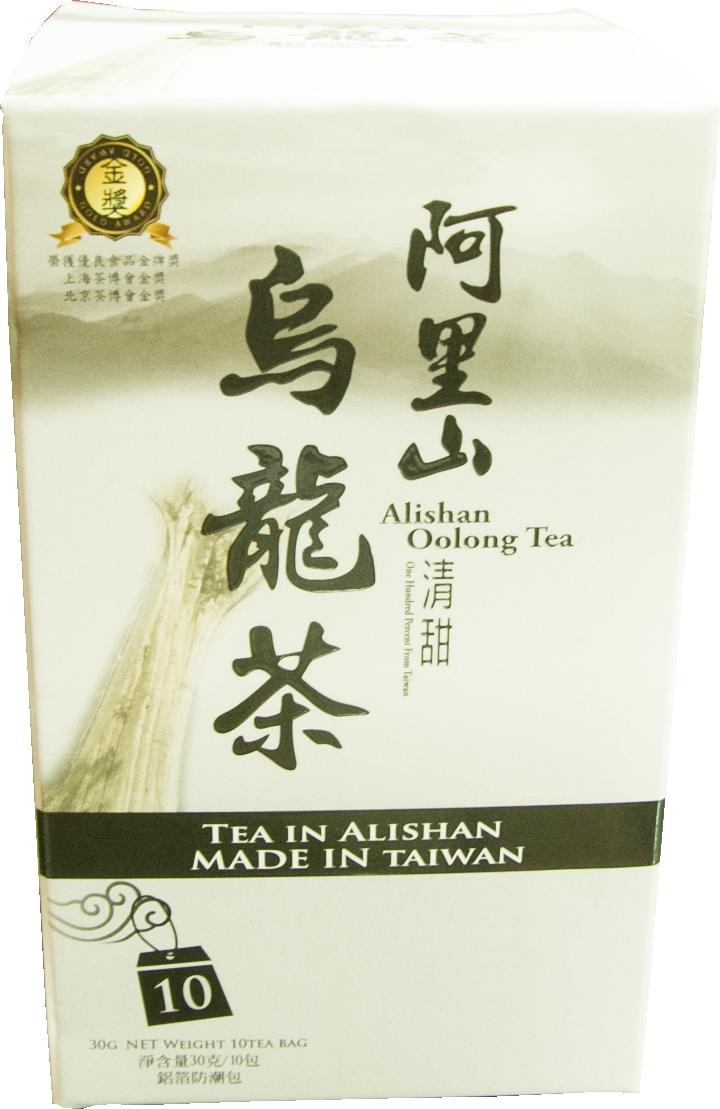 阿里山清甜烏龍茶包10入