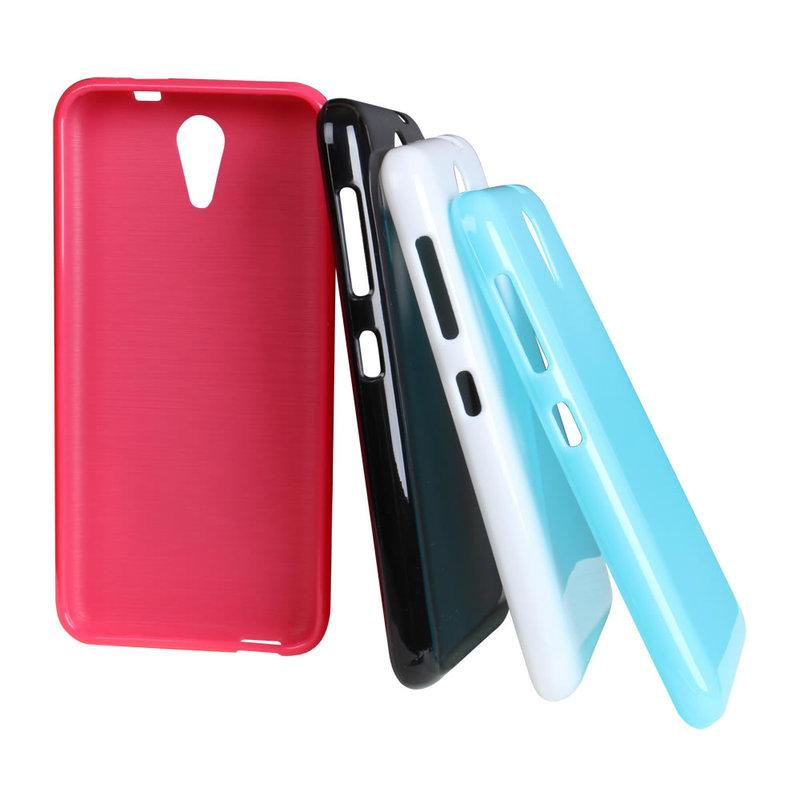 Ultimate-HTC Desire 620 dual 亮麗全彩軟質手機保護殼 防摔背蓋果凍套 保護套 手機殼