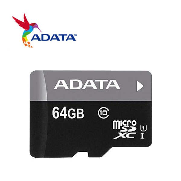 威剛 ADATA Micro SDHC UHS-I (Class10) 64GB記憶卡