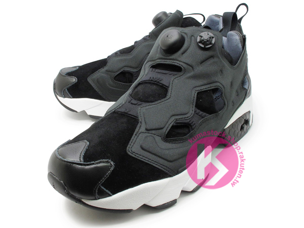 separation shoes afeb1 9415c  20 % OFF  2014 原版設計再現20周年紀念限量發售美國知名設計師STEVEN ALAN x Reebok INSTA PUMP FURY  OG 全黑皮革麂皮1994 原版中底設計(M44750) !