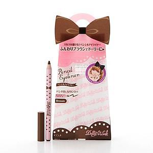 日本 KOJI 『 Dolly wink 眼線筆 』 BR - 咖啡色