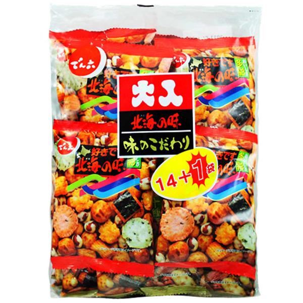 天六二色綜合14+1袋入豆果子(351g)