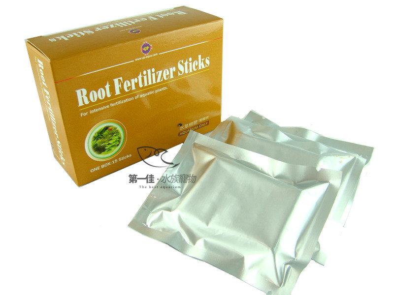 [第一佳 水族寵物]台灣雅柏UP 水草根肥粗條狀、營養根肥錠 [15根 盒裝] (根肥、水草肥料)