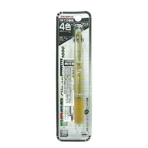 利百代 P-B4SA3 四色五合一多功能原子筆 / 支