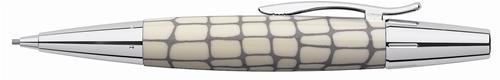 【FABER-CASTELL】輝柏 138352 鱷魚紋旋轉鉛筆(1.4mm筆芯/ 象牙白)
