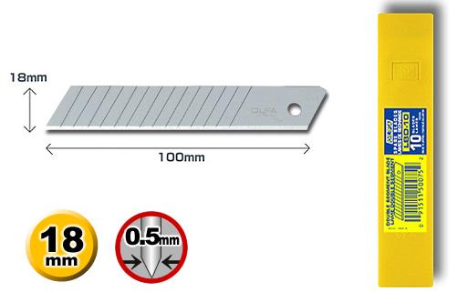 OLFA大型美工刀片LBD-10(10片裝) / 盒