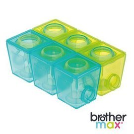 『121婦嬰用品館』brother max 副食品分裝盒(小號6盒)
