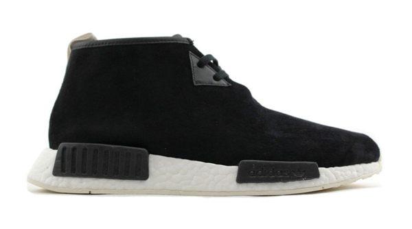 【蟹老闆】Adidas 愛迪達 NMD CHUKKA 麂皮 靴型 高筒 黑色 運動休閒鞋 少量現貨 女段