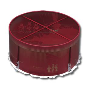 【零售量】手提圓型蛋糕盒14吋/25個