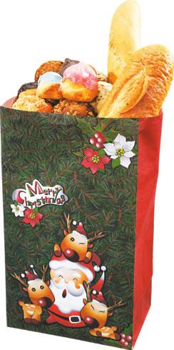 【零售】 聖誕袋-小 (50入 )