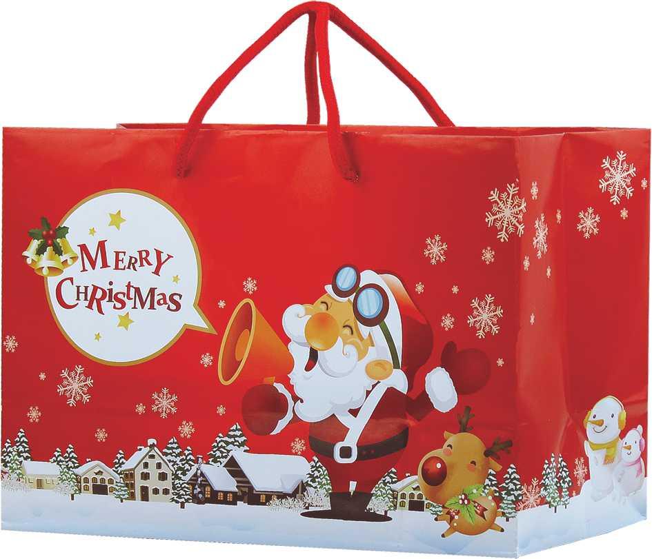 【零售】 聖誕袋-大 ( 50入 )