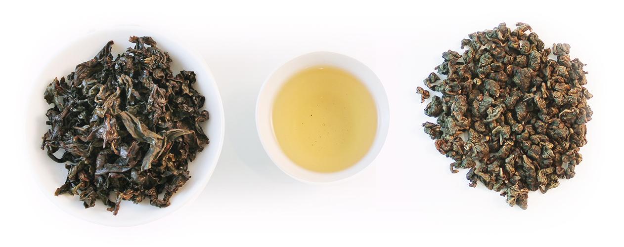 三峽碧螺春茶乾茶湯葉底圖