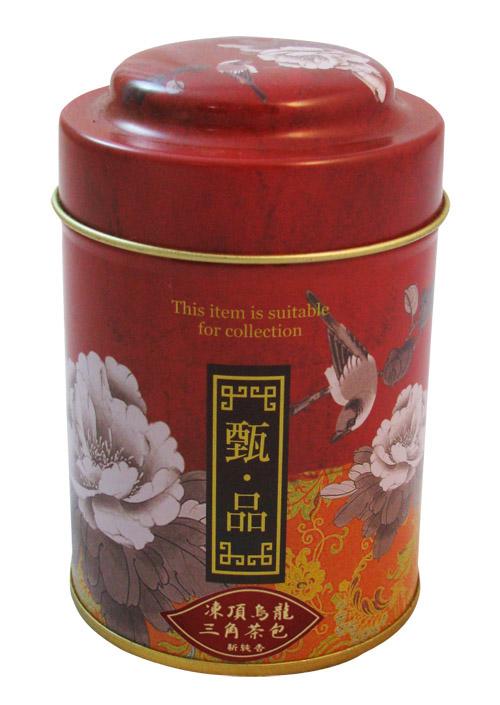 台灣凍頂烏龍茶三角茶包-12入罐裝